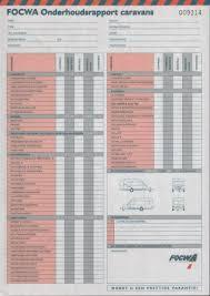focwa onderhoudsrapport